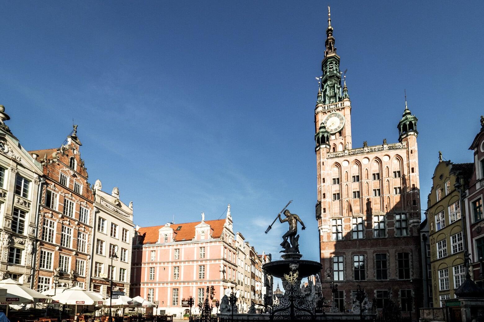 Gdansk Christmas Market Location