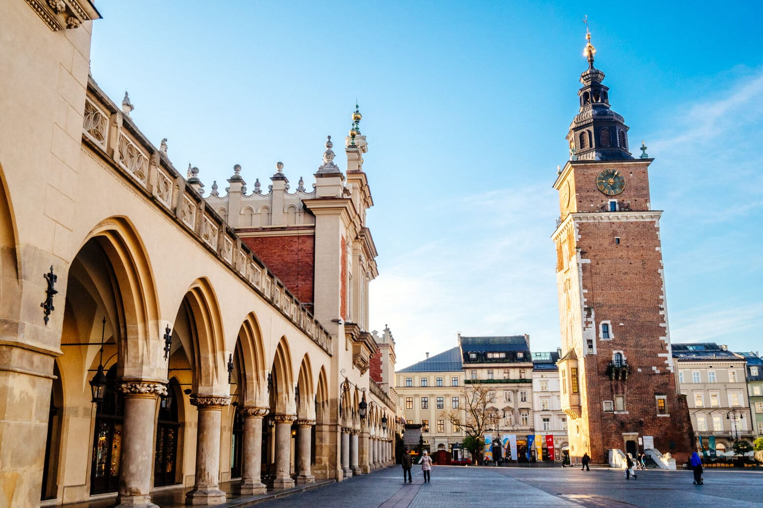 Krakow Main Square and Cloth Hall