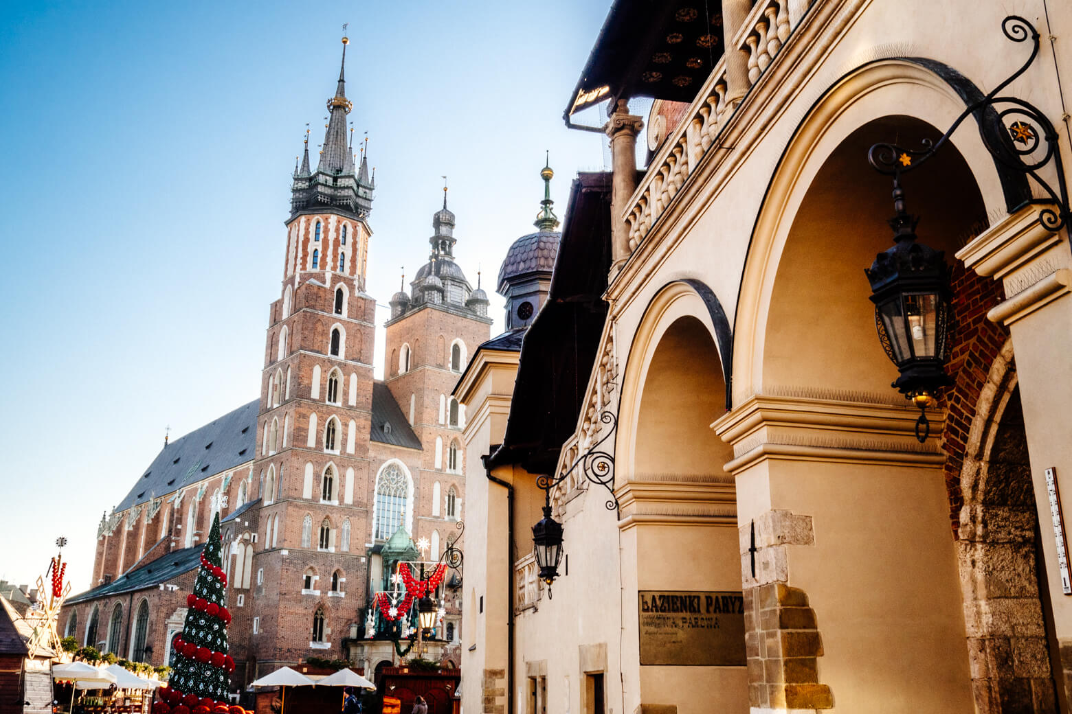 Krakow Main Square Christmas Market