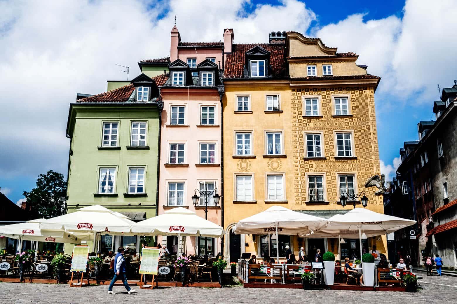 Warsaw's Rebuilt Old Town
