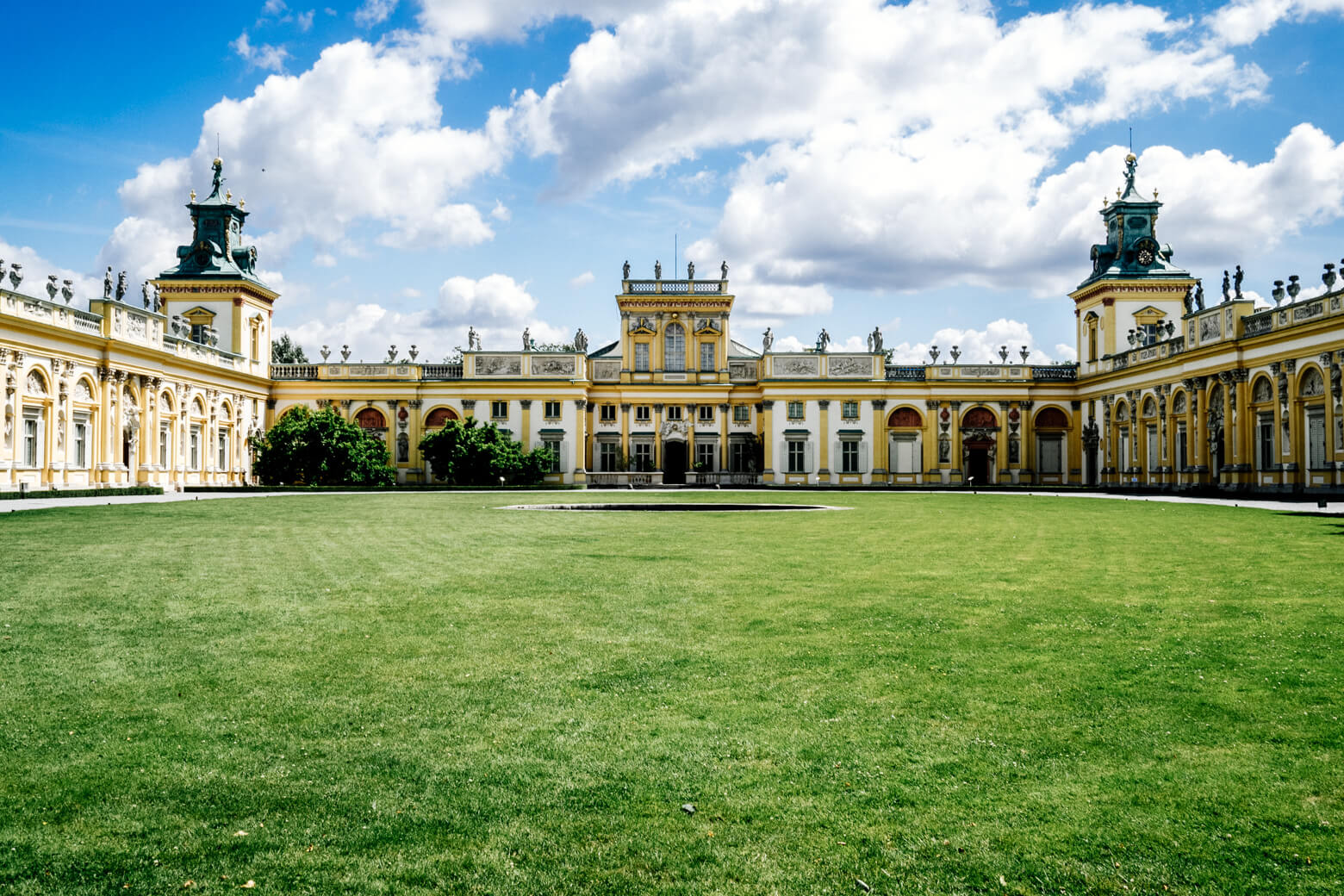 Wilanow Palace in the Summer