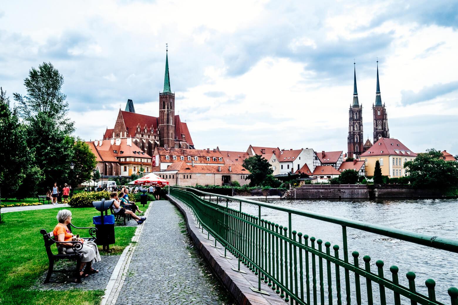 Cathedral Island, Wroclaw