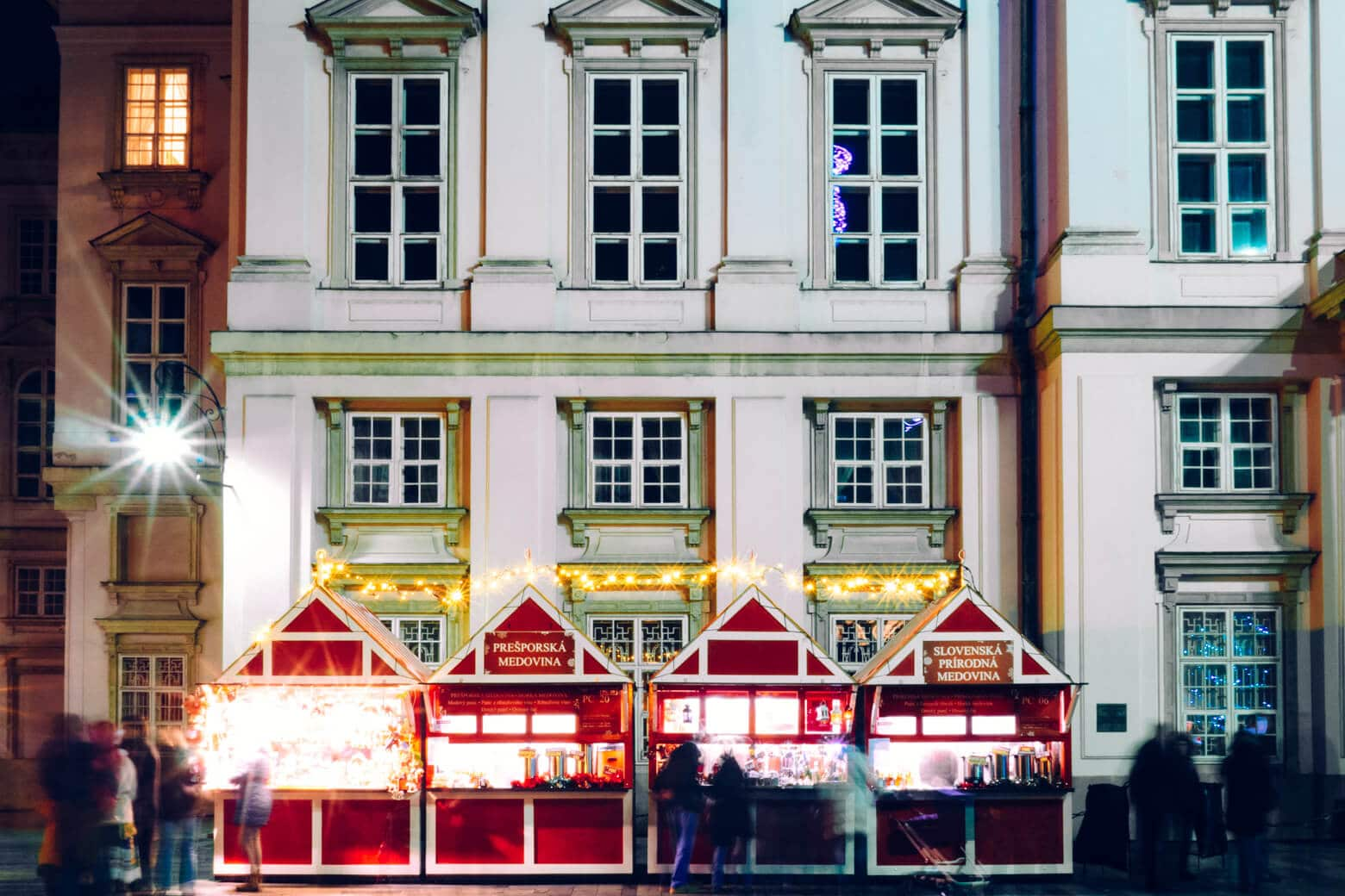 Bratislava Slovakia Christmas