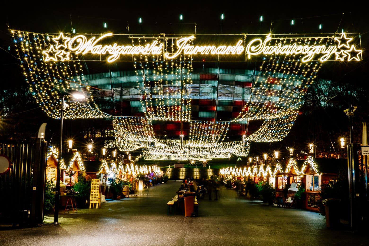 Warsaw Praga Christmas Market