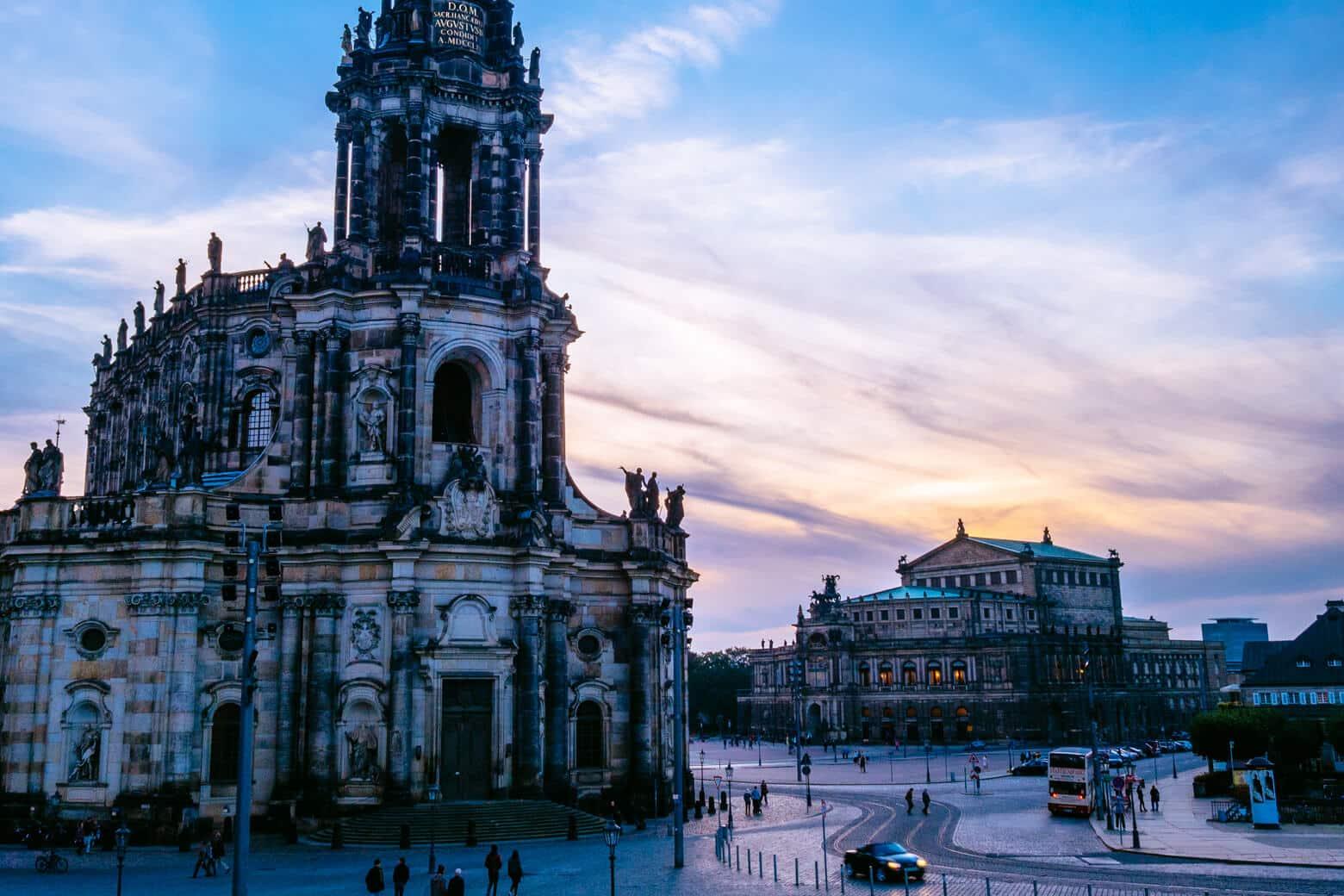 Dresden in Winter