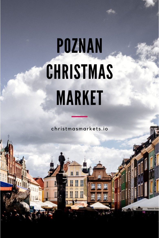 Poznan Poland Christmas Market