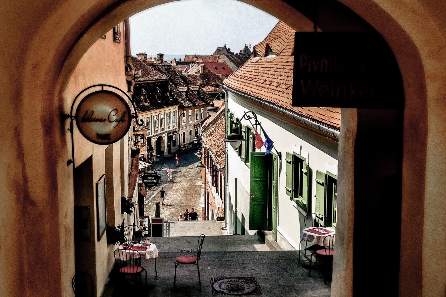 Sibiu Romania Christmas