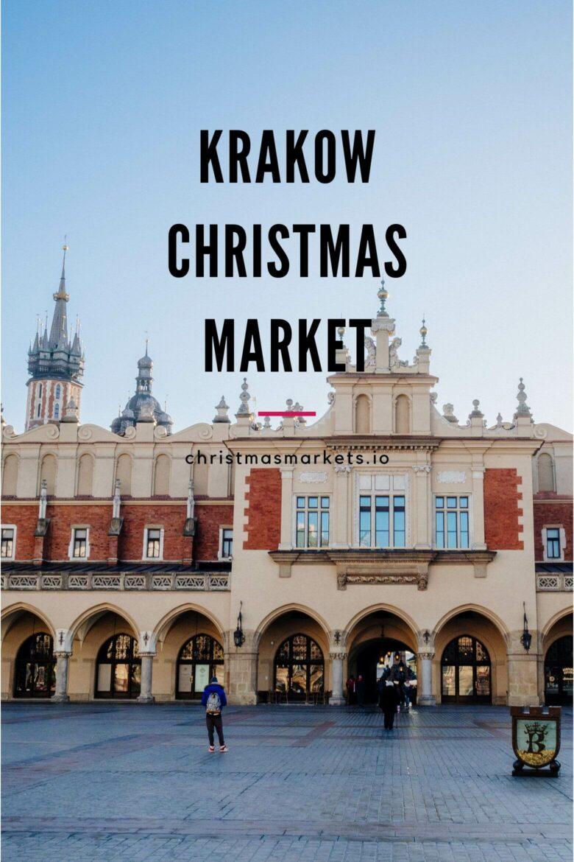 Krakow Christmas Market 2019