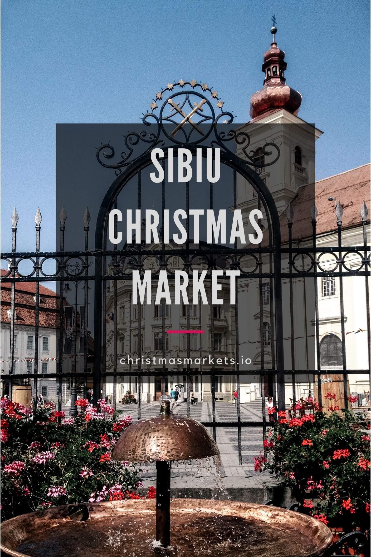 Sibiu Christmas Market Square