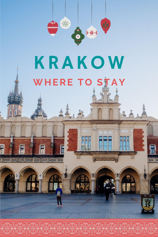 Krakow Cloth Hall at Christmas
