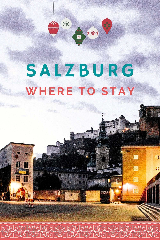 Salzburg Fortress at dawn.
