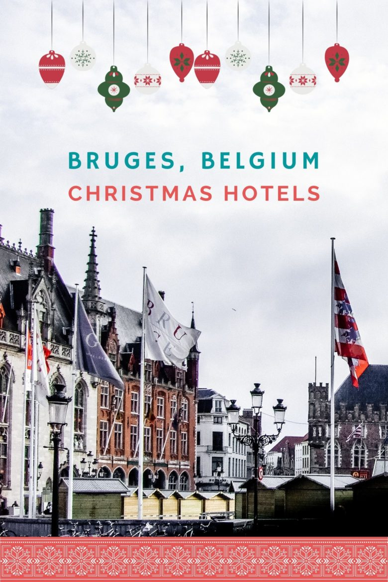 Market Place in Bruges with Hanseatic Buildings