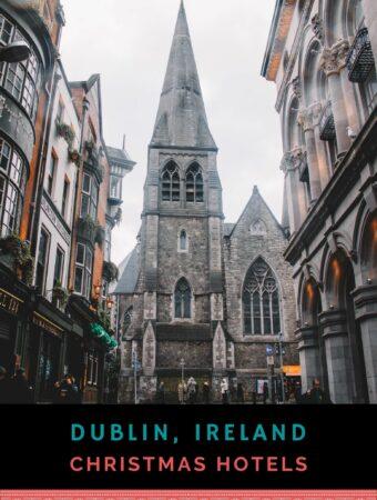 Historic church in Dublin city centre.