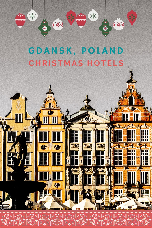 Historic houses on Long Market in Gdansk