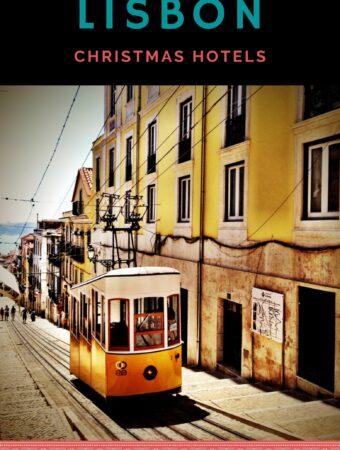 Historic yellow tram in Lisbon