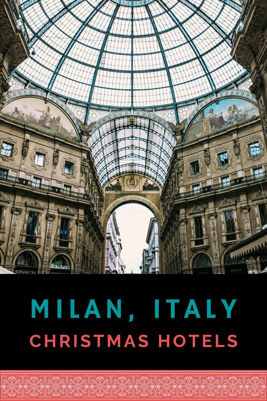 Galleria Vittorio Emanuele II - shopping arcade